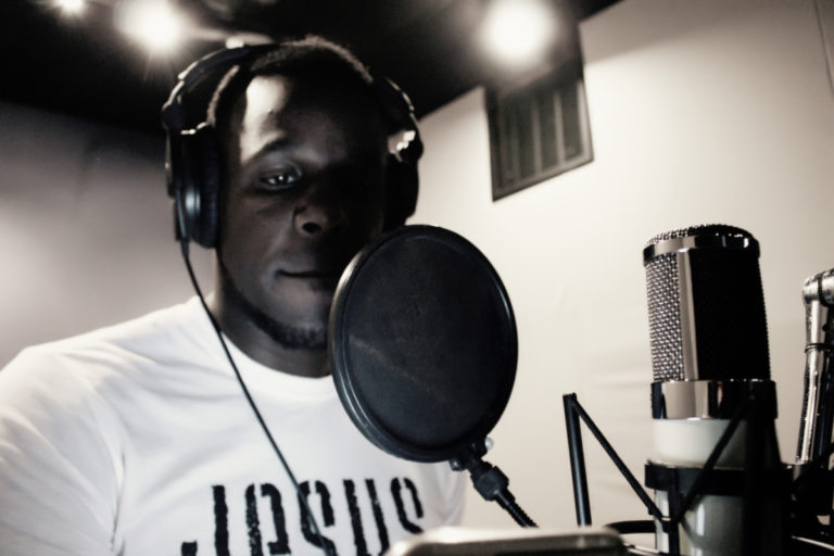 elijah on the mic